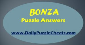 Bonza Daily Puzzle answers April 13 2018