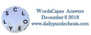 Wordscapes December 8 2018