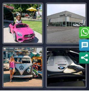 4 pics 1 word July 1 2019 car