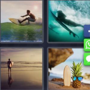 4 pics 1 word Feb 29 - surfing