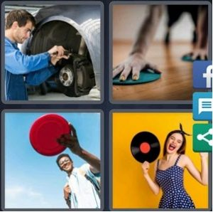 4 Pics 1 Word April 19 2020 answer is Disk