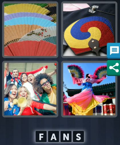 4 Pics 1 Word July 22 2020 daily puzzle answer