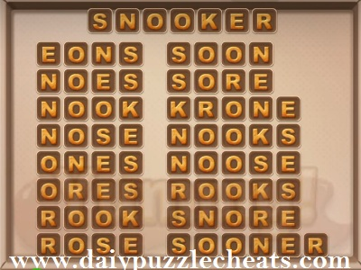 word cookies july 26 2020 daily puzzle answers