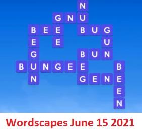 Wordscapes June 15 2021