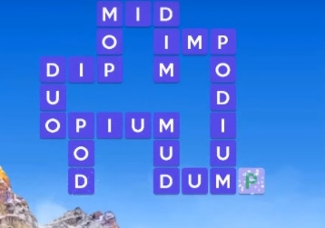 Wordscapes solutions June 28 2021